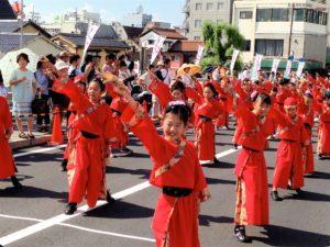 JAMジュニア松江だんだん夏踊り