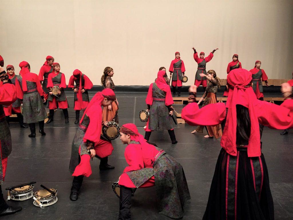 プリマヴェーラ舞台稽古